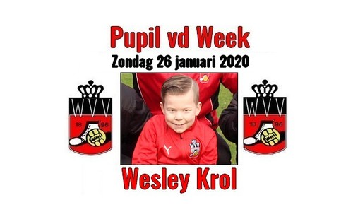 26 januari 2020 Wesley Krol Pupil vd Week