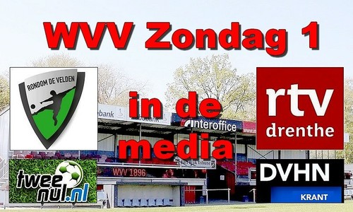 WVV Zondag 1 in de media